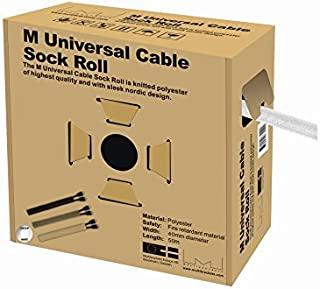 Multibrackets M通用電纜?襪 寬 40mm × 50m 白色