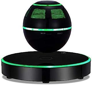 悬浮扬声器,ESOTIC 浮扬声器,蓝牙 4.1 360度旋转,触摸控制按钮和彩色 LED 闪光显示磁性SC-26