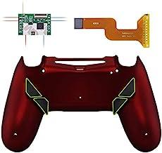 eXtremeRate Dawn 可编程重装套件,适用于 PS4 控制器,带 Mod 芯片和重新设计的后壳和 4 个后扣 - 兼容 JDM-040/050/055P4RM014