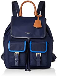 Tory Burch 雙肩包 PERRY NYLON ZIP BACKPACK 翻蓋式尼龍背包