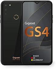 Gigaset GS4 智能手机 - 德国制造 - 功能强大的 4300 mAh 备用电池带快速充电功能 - 6.3 英寸全高清 + V - 开口显示屏 - 4GB RAM + 64GB 内存- Android 10 -