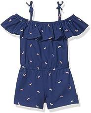 Nautica 诺帝卡 女童细肩带时尚连衣裙