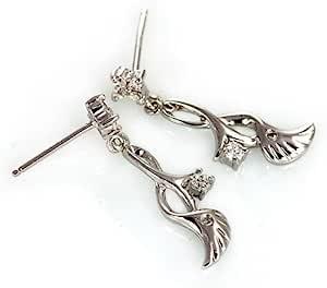 王廷珠宝 925银 钟爱一生 耳饰 送925银耳托