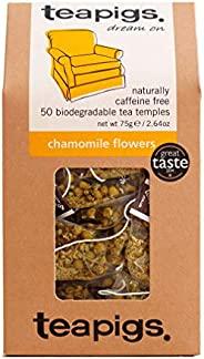 Teapigs 洋甘菊凉茶袋,整花制成(1包,50茶袋)