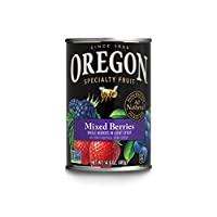 Oregon Fruit Mixed Berries, 14.6 Oz Can (Pack Of 4)