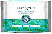 Mum & You * 可生物降解*塑料無嬰兒*手巾,14 片裝(336 片濕巾)不含植物基和酒精,可殺死 99.9%