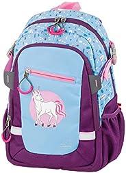 儿童背包带 2 个拉链口袋,独角兽,约 25 x 35 x 12 厘米,11 升,约 335 克