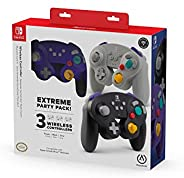 PowerA Extreme Party Pack 无线控制器 Nintendo Switch - GameCube 风格:3 包 - Nintendo Switch