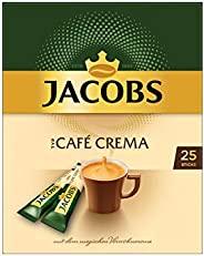 Jacobs 速溶咖啡 Café Crema,300条装/12件,12 x 25杯