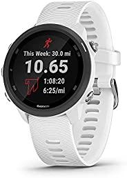 GARMIN 佳明 Forerunner 245 音乐 GPS 跑步智能手表 带音乐和高级动态效果器 白色