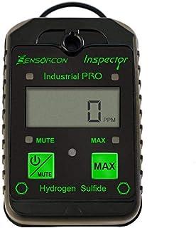Sensorcon H2S Industrial Pro,硫化氢探测器,可调节 报警点。 Measures H2S 0-400 ppm,防水,2 年保修,美国制造