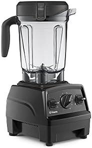Vitamix Explorian Blender 专业级矮型破壁料理机,黑色-65542(更新),64盎司(约1.89升)