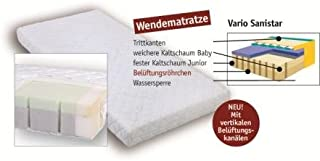 Aro Artländer 9207210 Vario-Sanistar 床垫,竹纤维罩,60 x 120厘米