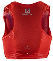 Salomon 萨洛蒙 Hydra Vest 4 男女通用越野跑水袋包 4L 2x软水瓶(包括越野跑)