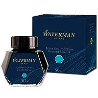 Waterman 墨水鋼筆,靈感藍,50毫升/瓶裝