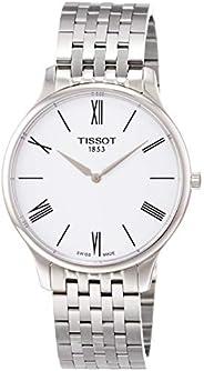Tissot T063.409.11.018.00 传统男式手表 银色 39 毫米 不锈钢