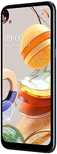 "LG K61(128GB,4GB)6.6"" FHD+,48MP 四摄像头,4000mAh 电池,双 SIM GSM 无锁美国 4G LTE(T-Mobile、AT&T、Metro、Straight Ta"