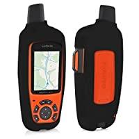 kwmobile 保护套 for Garmin inReach Explorer - GPS 听筒导航系统硅胶保护壳 - 户外导航设备保护套黑色44026.01_m000795 .黑色