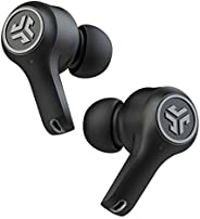 JLab Audio Epic Air ANC True 無線藍牙5耳塞 | 主動降噪 | IP55防汗 | 12 小時電池壽命,36 小時充電盒 | 低延遲電影模式 | 3 個 EQ 聲音設置