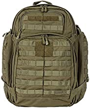 5.11 RUSH72 Tactical Backpack Large with 20 Compartments, MOLLE, SlickStick, Hydration Pocket, Comms Ready for
