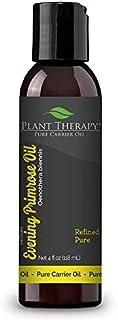 Plant Therapy 月见草载体油。用于芳香*、精油或按摩用途的基础油。 4 盎司(约 113.4 克)