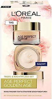 L'Oréal Paris 巴黎欧莱雅 Golden Age 保湿润肤面霜,日夜两用面霜,使肤色红润亮丽,礼品