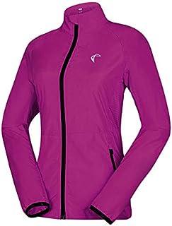 女式可折叠风衣夹克抗变形骑行跑步夹克轻质防风水