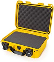 Nanuk 915 Case with Cubed Foam (Yellow)