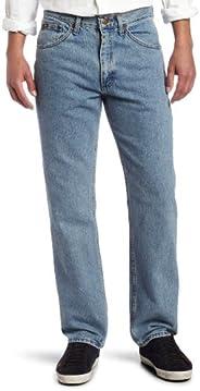 Lee 男士标准修身直筒牛仔裤 Light Stone 40W x 30L
