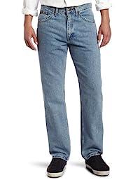 Lee 男士標準修身直筒牛仔褲 Light Stone 40W x 30L