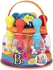 B. Toys - Let's Glow Bowling!- 多色六发玩具保龄球套装,带闪光塑料球