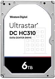 Western Digital Ultrastar DC HC310 SATA 机械硬盘 - 7200 RPM 级,SATA 6 Gb/s,256MB高速缓存,3.5英寸-HUS726T6TALE6L4 6TB