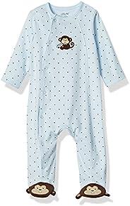 Little Me Baby-Boys Newborn Monkey Star Footie