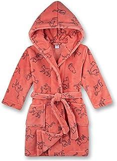 Sanetta 女童睡袍粉红色婴儿和儿童浴袍
