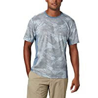Columbia 男士 Solar Chill 2.0 短袖襯衫,*紫外線,吸濕排汗面料