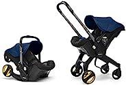 doona ISOFIX・*带固定两用 充气车座椅 宝蓝色 【日本正品/世界*儿童座椅婴儿车】 0个月~ (2年保修) 758011