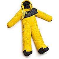 Selk'bag 中性睡袋 手臂和腿部 黑色 煤黑色 尺寸 L