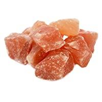 * 正品純粉色喜馬拉雅巖鹽塊 寶石袋 食品級(5 磅)