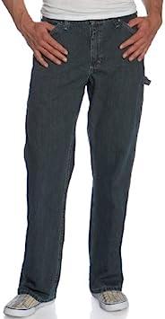Lee 男士粗布直筒工装牛仔裤 石英宝石 30W x 32L