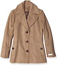 Calvin Klein 女士小号单排扣双排扣大衣