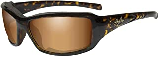 Harley-Davidson 女士 Tori 垫圈太阳镜,玳瑁带石边框 HATOR06