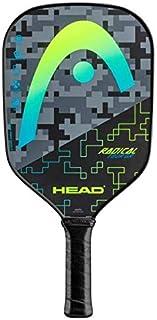 HEAD 石墨匹克球桨 - 激进之旅轻质桨带蜂窝聚合物芯和舒适握把,黄色