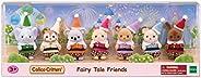 Calico Critters 童话朋友限量版玩具套装,含 7 个收藏公仔和服装配件