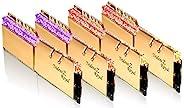 G.Skill Trident Z Royal F4-4000C18Q-128GTRG 內存條 128GB 4x32GB DDR4 4000MHz