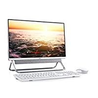 *新_戴爾 24英寸 FHD 觸摸屏一體化臺式機,* 10 代英特爾酷睿 i5-10210U 處理器,8GB 內存,1TB 硬盤,無線 + 藍牙,網絡攝像頭,Windows 10,鍵盤 + 鼠標