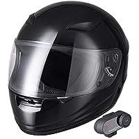 AHR Run-B 蓝牙摩托车模块化头盔全脸无线耳机免提对讲机 MP3 FM DOT