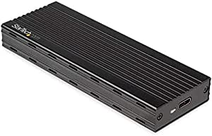 适用于 PCIe SSD 的 M.2 NVMe SSD 外壳 - USB 3.1 Gen 2 C 型 - 外部 NVMe 外壳 - 兼容 Thunderbolt 3