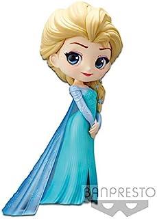 Disney- Figurine Q Posket- Elsa- 14 厘米(任天堂切换)