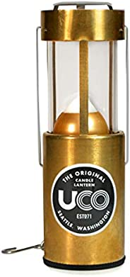 UCO Original 蜡烛灯笼,Brass,Non-Anodized