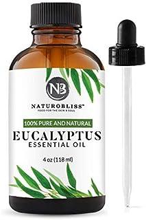 NaturoBliss *未稀释桉树精油(4 盎司)高级*级香薰*